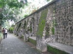 Salah satu sudut kompleks lawas Taman Narmada