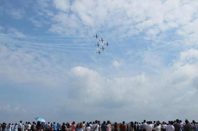 The Jupiter di Singapore Airshow 2014. (nina)