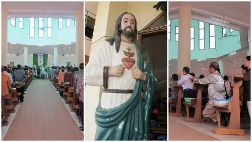 Gereja Katolik Bunda Maria, Jeruju, Pontianak