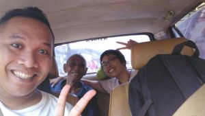 jelang malam takbir, dalam perjalanan pulang ke Ngablak setelah tiga malam di Semarang.