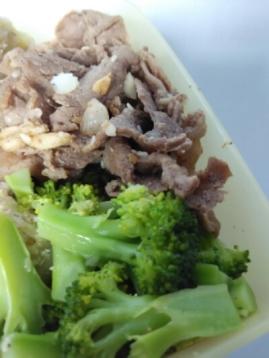 sapi bawang merica dan brokoli