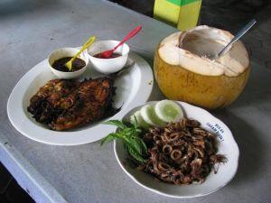 hidangan cocok untuk cuaca pantai yang panas dengan angin kering.